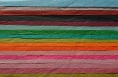 Abstrakcjonistyczny multicoloured tkankowego papieru tło fotografia stock