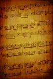 abstrakcjonistyczny muzyczny temat Obraz Royalty Free