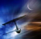 abstrakcjonistyczny myśliwiec Obraz Royalty Free