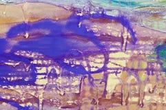 abstrakcjonistyczny nessie Zdjęcie Royalty Free