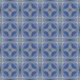 Abstrakcjonistyczny niebiański błękitny bezszwowy wzór Skiey tło Obraz Stock