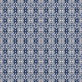 Abstrakcjonistyczny niebiański błękitny bezszwowy wzór Skiey tło ilustracja wektor