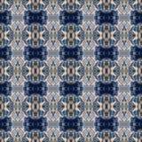 Abstrakcjonistyczny niebiański błękitny bezszwowy wzór Skiey tło Obraz Royalty Free