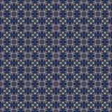 Abstrakcjonistyczny niebiański błękitny bezszwowy wzór Skiey tło royalty ilustracja