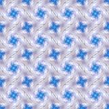 Abstrakcjonistyczny niebiański błękitny bezszwowy wzór Skiey tło Zdjęcie Royalty Free