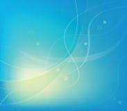 Abstrakcjonistyczny niebieska linia wektoru tło Zdjęcie Stock