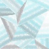 Abstrakcjonistyczny niebieska linia wzór ilustracja wektor