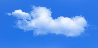 Abstrakcjonistyczny niebieskie niebo chmurnieje tło Obrazy Stock