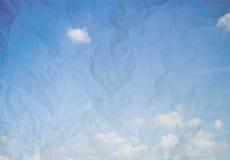 Abstrakcjonistyczny niebieskiego nieba tło Obraz Stock