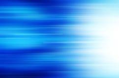 Abstrakcjonistyczny niebieskiej linii tło. Fotografia Royalty Free
