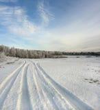 abstrakcjonistyczny śnieg Obrazy Royalty Free