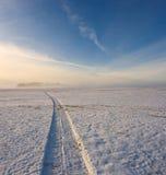 abstrakcjonistyczny śnieg Obraz Stock