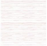 Abstrakcjonistyczny nieregularny pasiasty textured tło bezszwowy wzoru Nowożytny menchia wzór ręka patroszona Obraz Stock