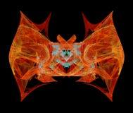 Abstrakcjonistyczny nietoperz Obraz Stock