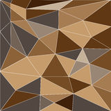 Abstrakcjonistyczny niski poli- tło trójboki Obraz Stock