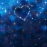 abstrakcjonistyczny nocne niebo Zdjęcie Royalty Free