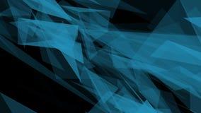 Abstrakcjonistyczny nowożytny Poligonalny Geometryczny trójboka tło ilustracja wektor
