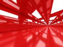 Abstrakcjonistyczny nowożytny architektury tło, pusty otwartej przestrzeni interi Zdjęcie Stock