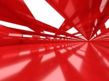 Abstrakcjonistyczny nowożytny architektury tło, pusty otwartej przestrzeni interi Obrazy Stock