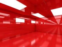 Abstrakcjonistyczny nowożytny architektury tło, pusty otwartej przestrzeni interi Fotografia Royalty Free