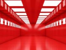 Abstrakcjonistyczny nowożytny architektury tło, pusty otwartej przestrzeni interi Zdjęcia Royalty Free