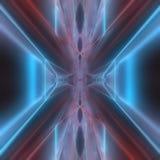 Abstrakcjonistyczny nowożytny drut z ostrości tła 3d renderingu Zdjęcie Stock