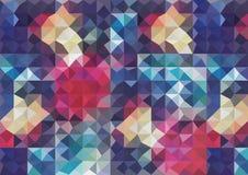 Abstrakcjonistyczny nowożytny geometryczny tło Zdjęcie Royalty Free
