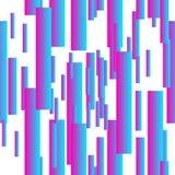 Abstrakcjonistyczny nowożytny gradientowy bezszwowy wzór fotografia stock