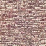 Abstrakcjonistyczny nowożytny organicznie czerwony geometrical tło Obrazy Stock