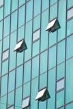 Abstrakcjonistyczny nowożytny budynek Zdjęcie Royalty Free