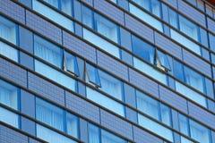 Abstrakcjonistyczny nowożytny budynek Obraz Royalty Free