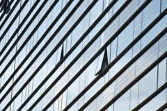 Abstrakcjonistyczny nowożytny budynek Zdjęcie Stock