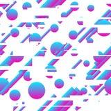 Abstrakcjonistyczny nowożytny gradientowy bezszwowy wzór Zdjęcie Royalty Free
