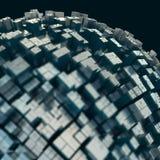 Abstrakcjonistyczny nowoczesna technologia tło Obrazy Stock