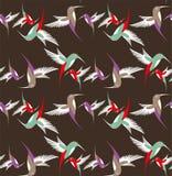Abstrakcjonistyczny nucić ptak w locie Obraz Stock