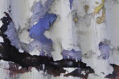 Abstrakcjonistyczny obieranie farby tło Zdjęcie Stock