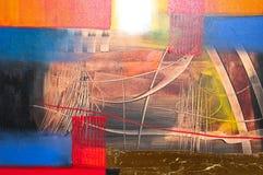 abstrakcjonistyczny obraz Obrazy Royalty Free