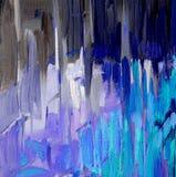 Abstrakcjonistyczny obraz dla wnętrza, ilustracja, tło Zdjęcia Royalty Free