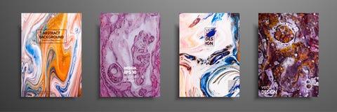 Abstrakcjonistyczny obraz, może używać jako modny tło dla tapet, plakaty, karty, zaproszenia, strony internetowe nowożytna grafik royalty ilustracja