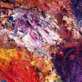 abstrakcjonistyczny obraz olejny Zdjęcie Stock