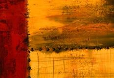Abstrakcjonistyczny obraz olejny ilustracja wektor