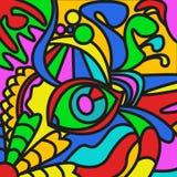 Abstrakcjonistyczny Obrazek Fotografia Stock