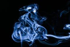 Abstrakcjonistyczny obrazek dym zdjęcie royalty free