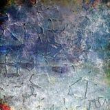 Abstrakcjonistyczny obrazkowy grunge tła wzór Obrazy Royalty Free