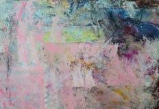Abstrakcjonistyczny obrazu tło Obrazy Royalty Free