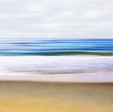 Seascape abstrakt Obrazy Royalty Free