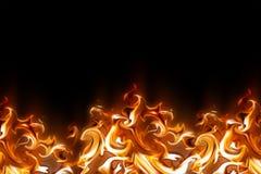 abstrakcjonistyczny ogień ilustracja wektor