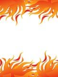 abstrakcjonistyczny ogień Fotografia Stock
