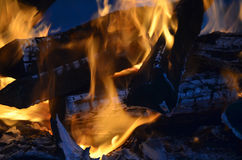 abstrakcjonistyczny ogień Zdjęcie Stock