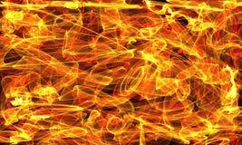 Abstrakcjonistyczny ognisty tło Obrazy Royalty Free